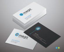 Free premium elegant business card