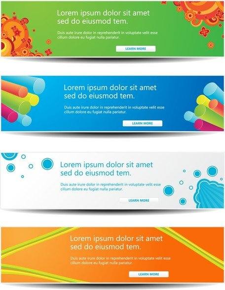 Web Decorations Vector 2 Headline Content