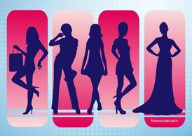 Fashion Vector Silhouettes