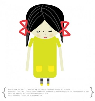 free sad girl clipart and vector graphics clipart me rh clipart me sad teenage girl clipart sad little girl clipart