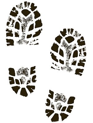 free boots shoes shoe prints clipart and vector graphics clipart me rh clipart me muddy shoe prints clip art shoe print images clip art free