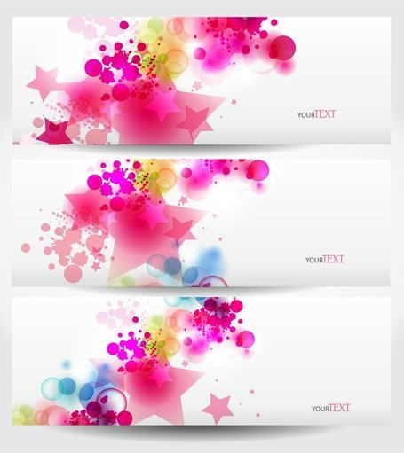 Dynamic Trend Banner04Vector