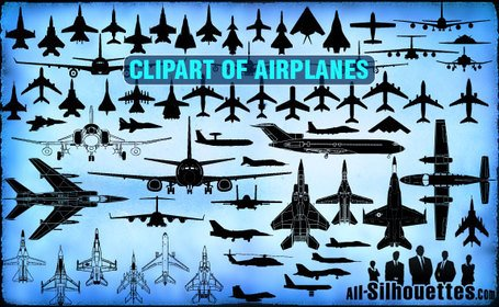Clipart Airplane vector 73