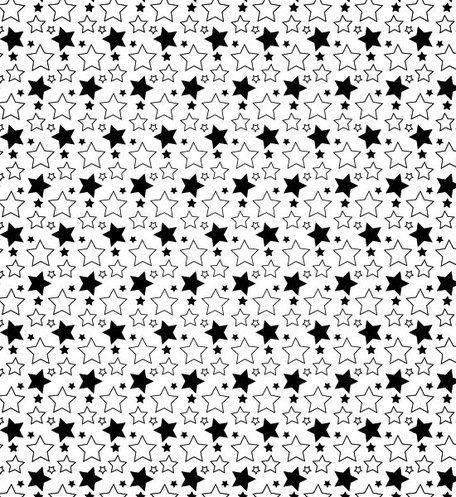 A Simple Star Seamless Vector Pattern