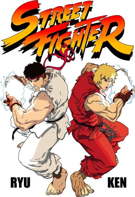 Street Fighter Vector bronbestanden