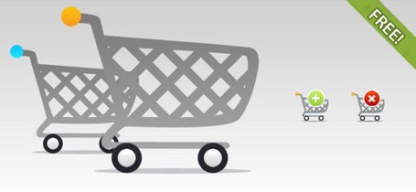 Gratis Shopping Cart ikoner