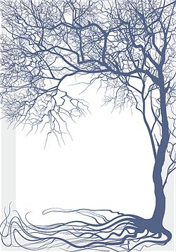 Bare Trees Silhouette Clip Art Free Download