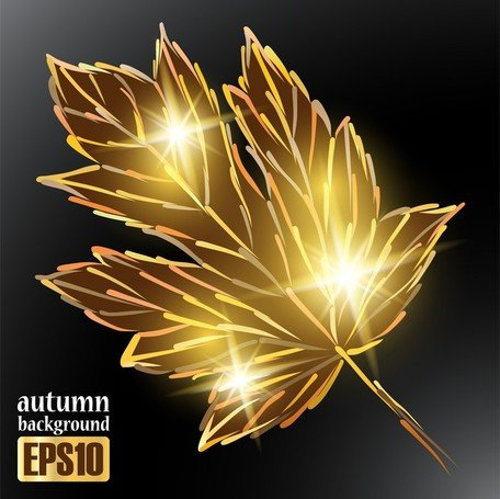 Sparkling Autumn Leaves