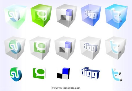 3d web20 icons by mao 15 icons vector clipart 3d web20 icons by mao 15 icons sciox Choice Image