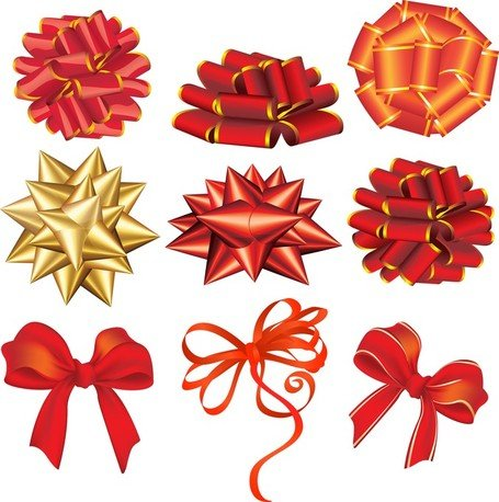 Vector Festive Ribbon