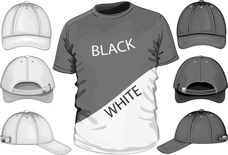 Shortsleeve Tshirt Template 04