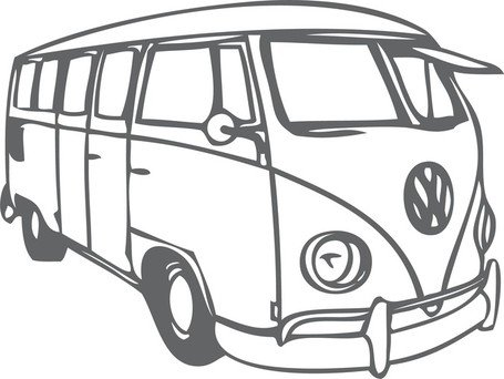 Free Vw Bus Clipart And Vector Graphics