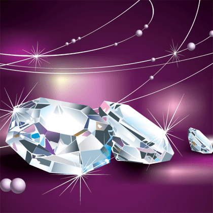diamond vector background - photo #18
