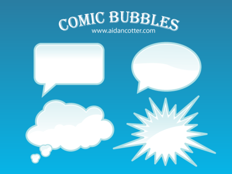 Free Comic Bubble Vectors