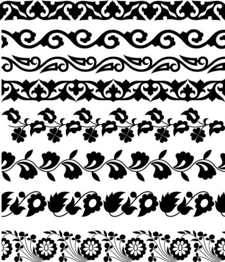 Classic traditional lace pattern 02