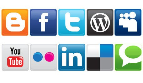Vector Social Media Icons Free Download, Vector Graphic - Clipart.me