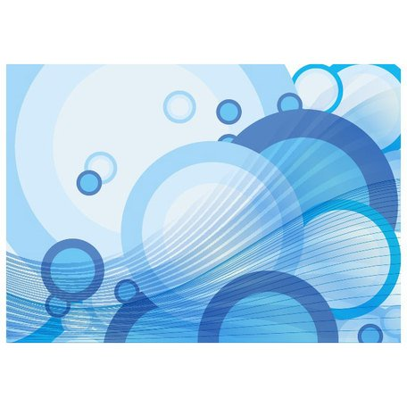 BLUE WATER BUBBLES VECTOR BACKGROUND.ai