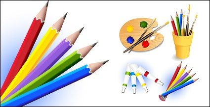 Drawing Tool And Supplies Vector Images Clipart Me