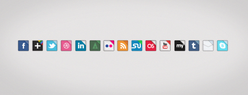 Sosyal Icon set