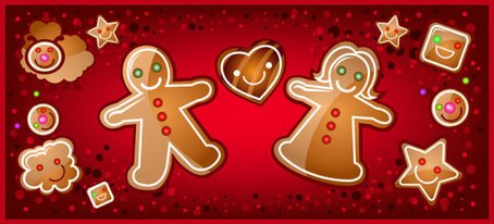 Cartoon Christmas banner 02