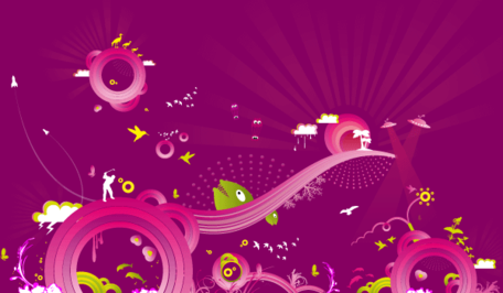Purple Background Vector Graphic Free