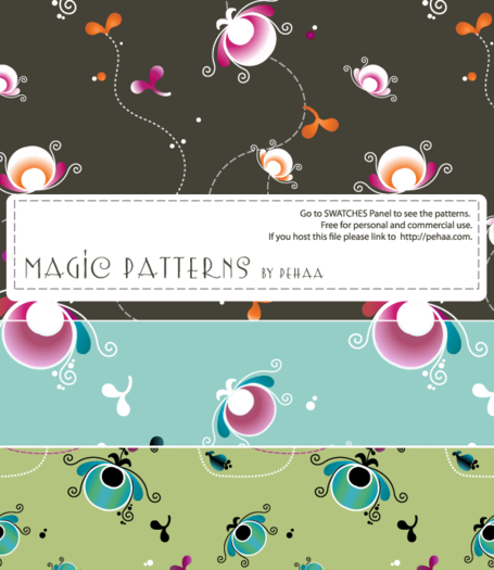 Magic Patterns - Free Resources for Photoshop and Illustrator