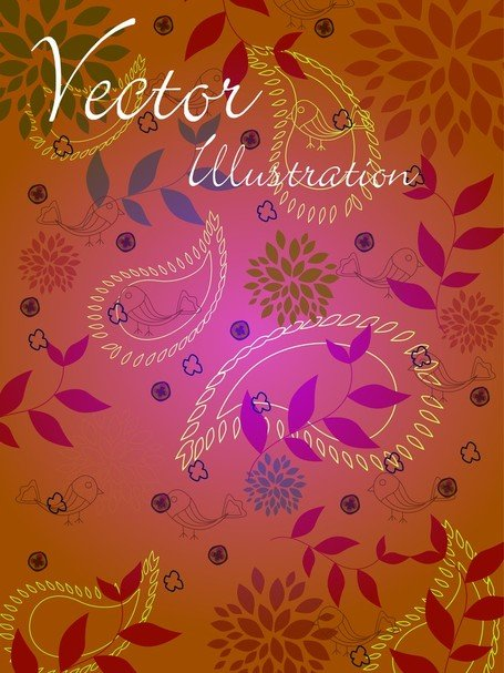 Natural Vector Illustration Line Draft 02