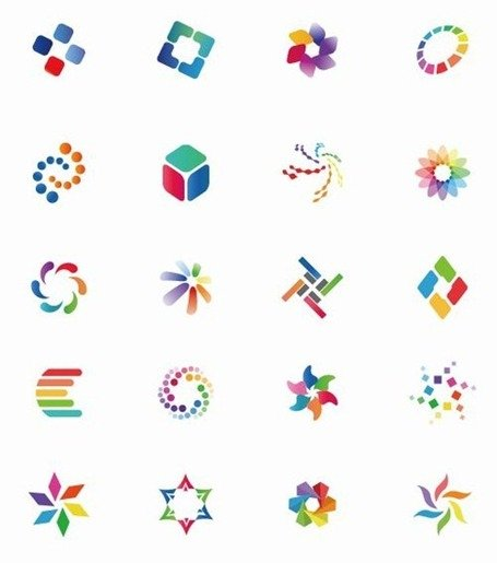 Icon Set Vector coloré