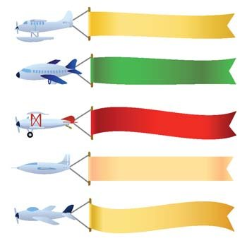vector plane with message area  vector images clipart me airplane clip art free airplane clipart free images