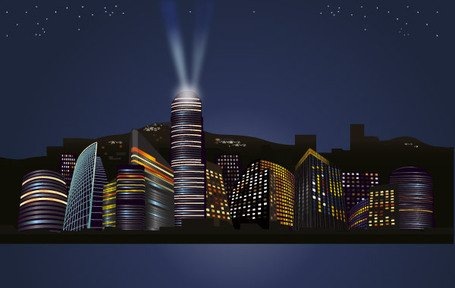 Noites City Skyline