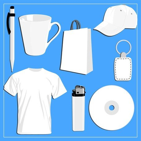 Blank Vi Design Vector Commonly Used Items