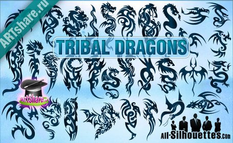 30 Dragons tribales