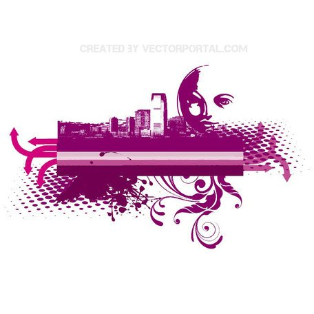 CITY SKYLINE VECTOR.eps