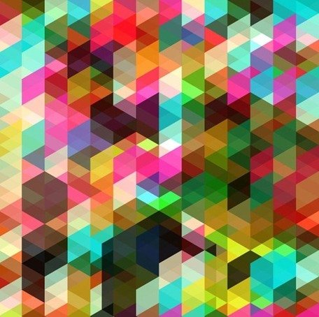 Arte abstracto Vector de color