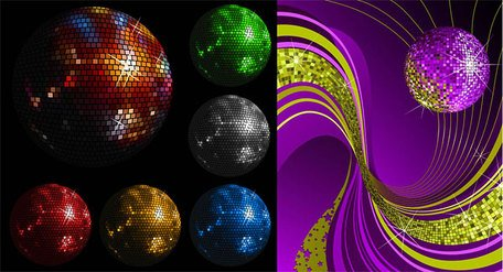 Disco crystal ball