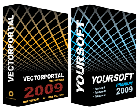 Software vak Vector gratis