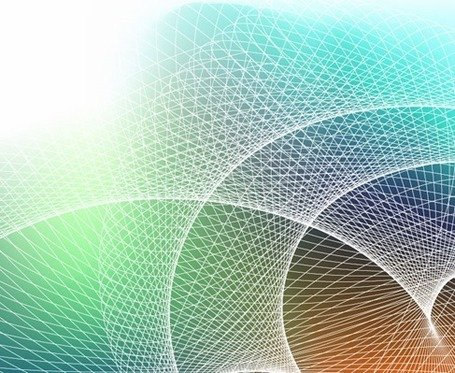 Abstract Background with Grid