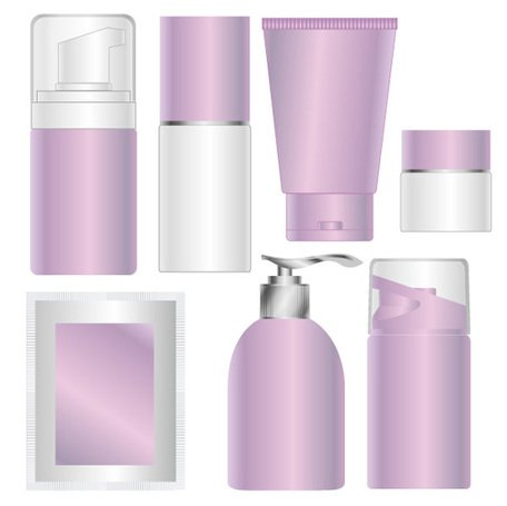 Blank Skin Care Cosmetics Packaging