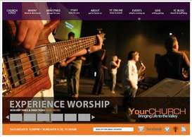 Church Website Layout