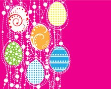 Vector Easter Eggs ontwerp