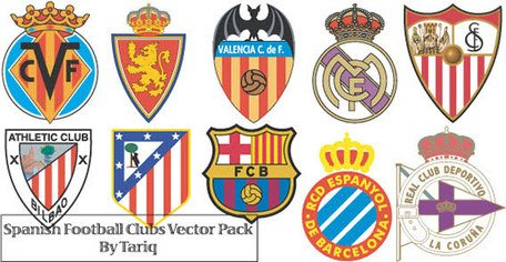 Spanish Football Club Logos