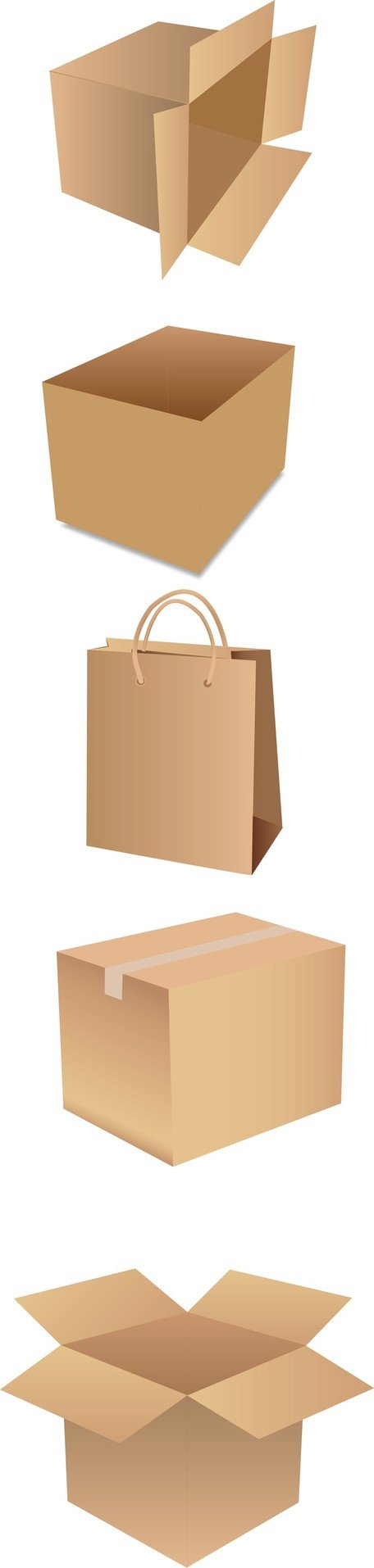 Shipping Box Psd images