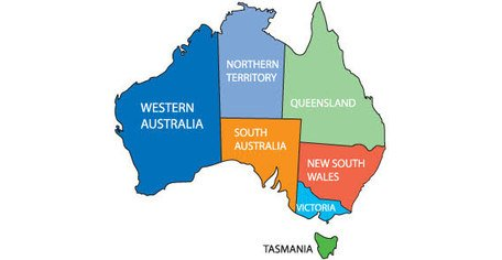 Free Australia Maps Clipart and Vector Graphics - Clipart.me