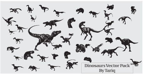 Dinosaurs set of