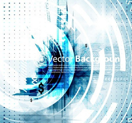 Vector Background Tech