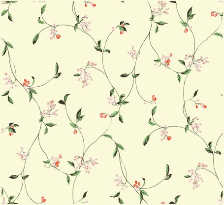 Simple and elegant flower pattern background