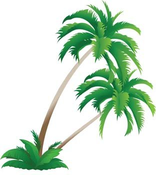 palm tree 4 free vector clipart me rh clipart me free palm tree vector silhouette free palm tree vector images