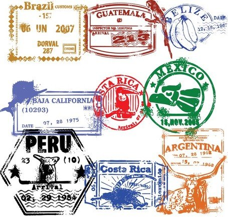 free passport stamp clipart and vector graphics clipart me rh clipart me passport stamps clipart passport stamps clip art free