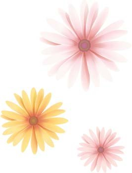 Button Flower Vector 19