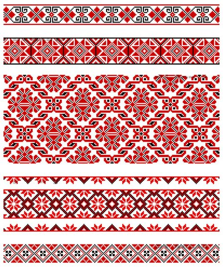 Beautiful Costumes Pattern 02 - Vector Beautiful